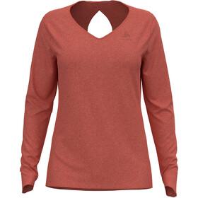 Odlo Halden Linencool T-Shirt L / S Crew Neck Damer, rød